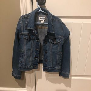 Girls Size 8 Old Navy Denim Jacket